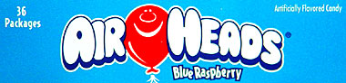 Air Heads Blue Raspberry 36ct.