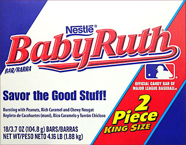 Baby Ruth King Size 18CT Box