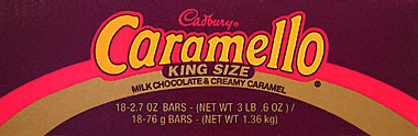 Cadbury Caramello King Size 18CT Box