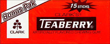 Clarks Teaberry 12 15 Sticks