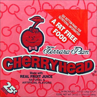 Cherryhead 24 1oz packages