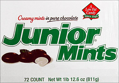 Junior Mints 72Ct Display Box