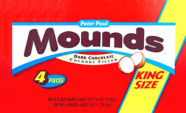 Mounds King Size 18CT Box
