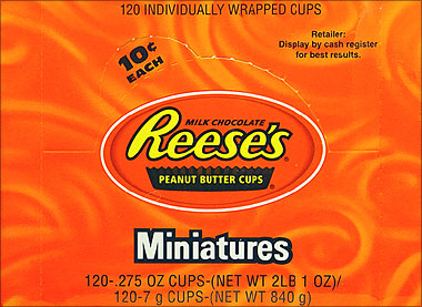 Reeses Peanut Butter Cups Miniatures 105ct.