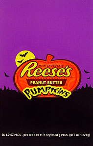 Reeses Peanut Butter Pumpkins 36ct box
