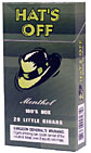 Hat's Off Menthol 100 Box